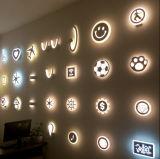 Luz moderna da lâmpada de parede da leitura do diodo emissor de luz do acrílico para o corredor