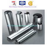 SUS201, 304, 316 Ranura doble Tubo de acero inoxidable