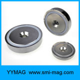 Магнитные магниты бака с зенкованным держателем винтов отверстий