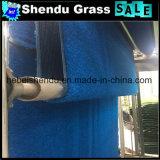 装飾的で総合的な草の泥炭25mmの青カラー
