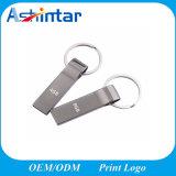 Mini mecanismo impulsor del flash del USB del metal del disco de la memoria del USB del Keyring