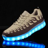 Recentste LEIDENE van de Leverancier van de fabriek de Toevallige Schoenen van de Mannen en van de Vrouwen van Schoenen Kleurrijke in China