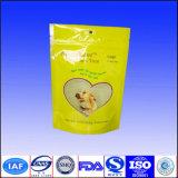 Gedruckter Fastfood- Reißverschluss-Nahrungsmittelaluminiumfolie-Beutel-Beutel