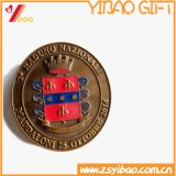 Particulièrement pièce de monnaie de médaillon de hippocampe réglée par logo (YB-HD-45)