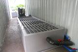 Macchina messa in recipienti del ghiaccio in pani di tonnellate/giorno semplice di funzionamento 4 con cella frigorifera