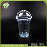 450ml /15oz 뚜껑과 밀짚을%s 가진 처분할 수 있는 플라스틱 스무디 컵