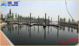 Muelle de aluminio sin necesidad de mantenimiento el pontón de flotación del perfil