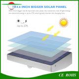 2017 luzes solares impermeáveis ao ar livre solares da parede do sensor de movimento dos lúmens PIR da lâmpada 760 da luz solar de alumínio do jardim da segurança 48LED