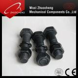 탄소 강철 스테인리스 육각형 놀이쇠와 견과 급료 8.8 10.9 DIN933 DIN931