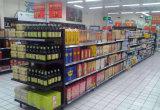 적은 슈퍼마켓 선반 소매점 전시 편리한 상점 선반
