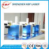 Máquina de gravura de marcação a laser de fibra portátil em metal