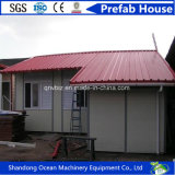 DIY Fast Assembly pré-fabricados House of Light Steel Frame e Sandwich Panels