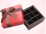 La coutume de empaquetage de papier de boîte à chocolat/chocolat reçoivent Jd-CB001