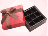 Бумажная таможня коробки шоколада/шоколада упаковывая принимает Jd-CB001