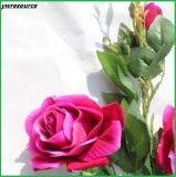 가정 결혼식 훈장을%s 가짜 꽃이 로즈 실크 인공적인 새싹에 의하여 꽃이 핀다