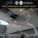 Estrutura circular da sustentação do fardo para a decoração