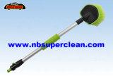 Agua corta plástica de la maneta a través del cepillo de la rueda de la colada de coche (CN1907)