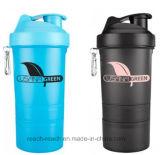 Energia da proteína que bebe o frasco plástico do abanador (R-S039B)