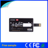 Lecteur flash USB par la carte de crédit d'impression de logo de Colorfull d'aperçus gratuits