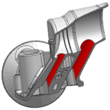 Прессформа заливки формы Al для Navistar Spev. C-8