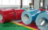 Il colore di alta qualità ha ricoperto le bobine d'acciaio per il compratore