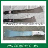 Machette de canne à sucre d'outil manuel de jardin d'acier du carbone de qualité de machette
