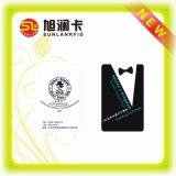 Tarjeta de visita legible reescribible de la impresión RFID con precio de fábrica