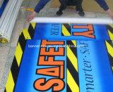 Напольное изготовленный на заказ печатание рекламируя знамя PVC винила (SS-VB86)
