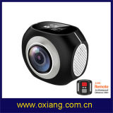 Двойная камера Pano спорта WiFi объектива камера спорта 360 градусов