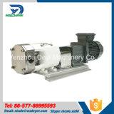 Pompe hygiénique de grande viscosité de rotor de pente d'acier inoxydable