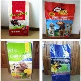 ペットFood Packing Bags/Block Bottom Animal Food Bags/PP Woven Feed Bag (20kg)