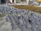Plantador Shaped de mimbre del jardín de la poder de riego
