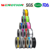 filament 1.75/3.00mm de PLA d'ABS de filament de l'imprimeur 3D