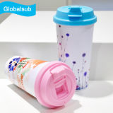 Dye Sublimation Blanks to-Go Coffee Cup com tampas