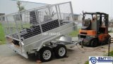 8X5ft 5-stadium Hydraulic Tipper Trailer van ATM 2t