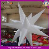 Раздувная звезда с электрической лампочкой СИД для рекламировать индикацию