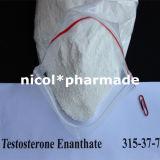 Fournisseur anabolique stéroïde cru de poudre d'Enanthate de testostérone