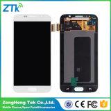 Экран касания LCD мобильного телефона для галактики S6 Samsung