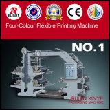 Vier Farben-flexible Drucken-Maschine