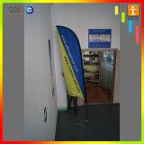 Promotie Producten Geplaatst de Vlag van de Banner van de Veer van het Strand met de Druk van de Douane