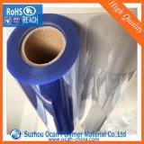 Film de roulis d'ampoule de PVC, roulis de PVC, film de roulis rigide de PVC pour l'emballage d'ampoule