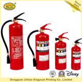 Etiqueta adesiva sensível do extintor de incêndio