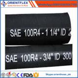 Boyau hydraulique SAE 100 R4 de pétrole d'aspiration de pétrole