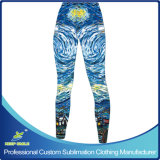 Kundenspezifische Sublimation-Frauen-Form Legging
