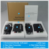 1, 2, 4, 8 의 CCTV를 위한 16 채널 Fiber Optic Video Converter Transceiver