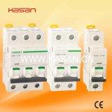 1p, 2p, 3p de Elektro MiniStroomonderbreker MCB van IC60n IC65