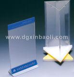 Menu acrylique Display Stands Menu Holder Counter Holder Magzine Holder Menu Stand pour Display