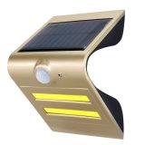 Induktives Wand-Licht-Solarsicherheits-Beleuchtung mit Bewegungs-Fühler