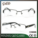 Het recentste Oogglas Eyewear van het Frame van de Glazen van het Metaal Optische
