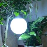 잔디밭 정원 통로 훈장 방수 손전등 공 태양 거는 빛